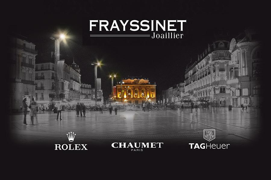 """site Internet - Bodeva, agence digitale Montpellier (34) - """"Frayssinet"""" joaillier"""