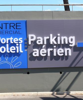 Aménagement Enseigne - Bodéva, agence de communication Montpellier 34 - Les portes du soleil