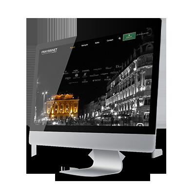 Agence digitale - relooking site internet Frayssinet